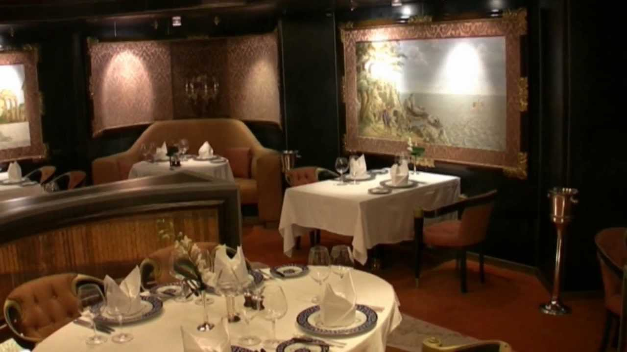 Ms Rotterdam Restaurant De Pinnacle Grill YouTube - Pinnacle grill