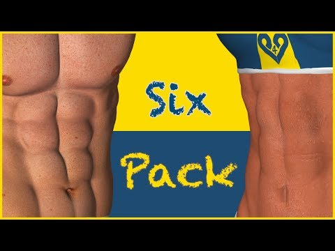 Six Pack Abs  No Music
