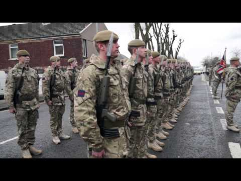 Welsh Guards ( 1st Battalion The Prince of Wales )