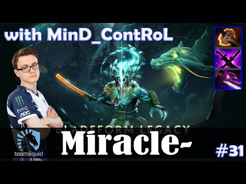 Miracle - Juggernaut Safelane | with MinD_ContRoL (Brewmaster) | Dota 2 Pro MMR Gameplay #31