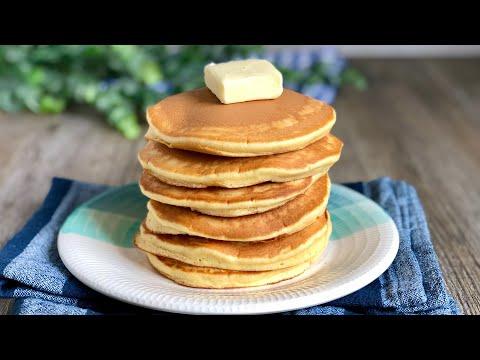 Pancakes o tortitas americanas muy fáciles