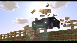 The Crew - E3 Trailer - Minecraft Remake