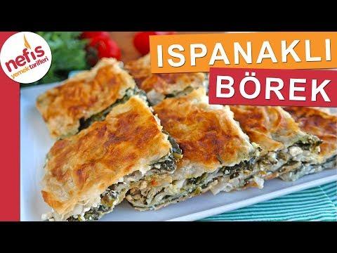 Sodalı Ispanaklı Tepsi Böreği - En pratik ıspanaklı börek yapımı