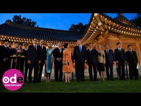 Donald Trump and Ivanka meet K-Pop sensations EXO