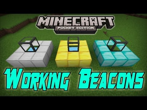 How to make a beacon work minecraft pe