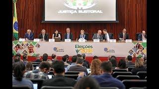 Eleições 2018: Coletiva de Imprensa.