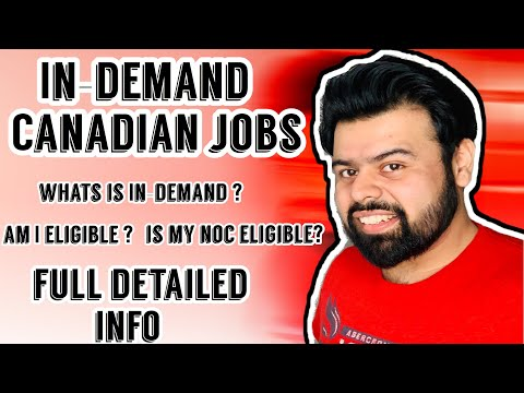 In-DemandJobs In Different Province | Can I Apply If My NOC Is Not In-Demand ? | Detailed INFO