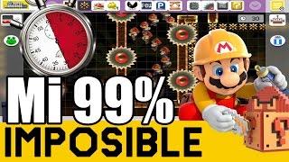 Precisión Máxima en 30 Segundos ! [SPEEDRUN] - MI 99% IMPOSIBLE #3 | Super Mario Maker | ZetaSSJ