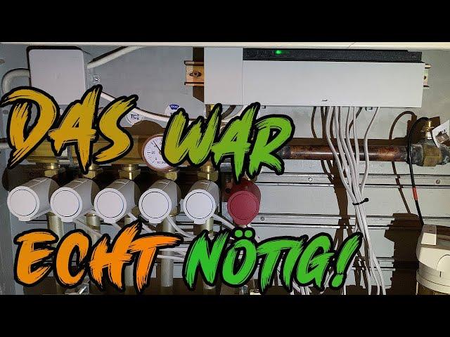 Fußbodenheizung Aufrüsten   Möhlenhoff Alpha 2   Lets do it