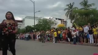 Transmisión del Desfile Militar del 20 de Julio en Santa Marta