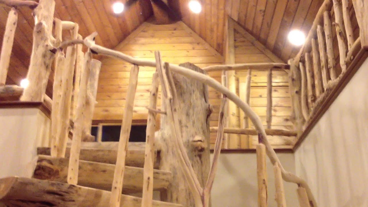 Custom Log Spiral Staircase   YouTube