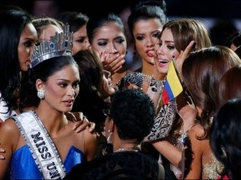Miss Universe 2015 Fail
