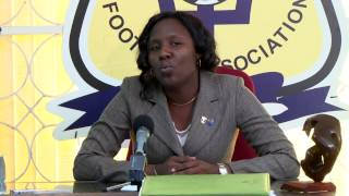 Barbados Football Association Press Conference 15th of February