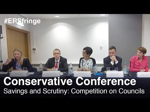 Savings and Scrutiny: Competition on Councils (Conservative Fringe)