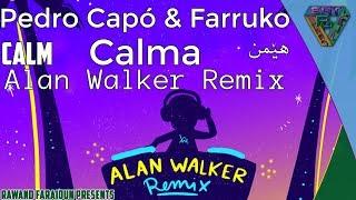 Download Pedro Capó & Farruko - Calma (Alan Walker Remix) (Spanish/English/Kurdish Lyrics)