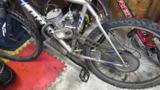 Mon bike ! Vélo a moteur 66cc
