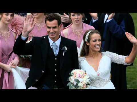 Andy Murray: 'Marriage works!'