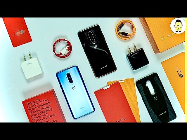 OnePlus 7T Pro and McLaren Edition unboxing: it's so beautiful!