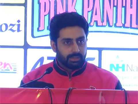 Pro Kabaddi- Jaipur Pink Panthers  in Jaipur | Abhishek Bachchan