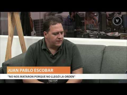 Juan Pablo Escobar en El Observador TV