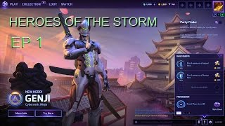(Heroes Of The Storm EP 1) Bliver jeg MVP ?