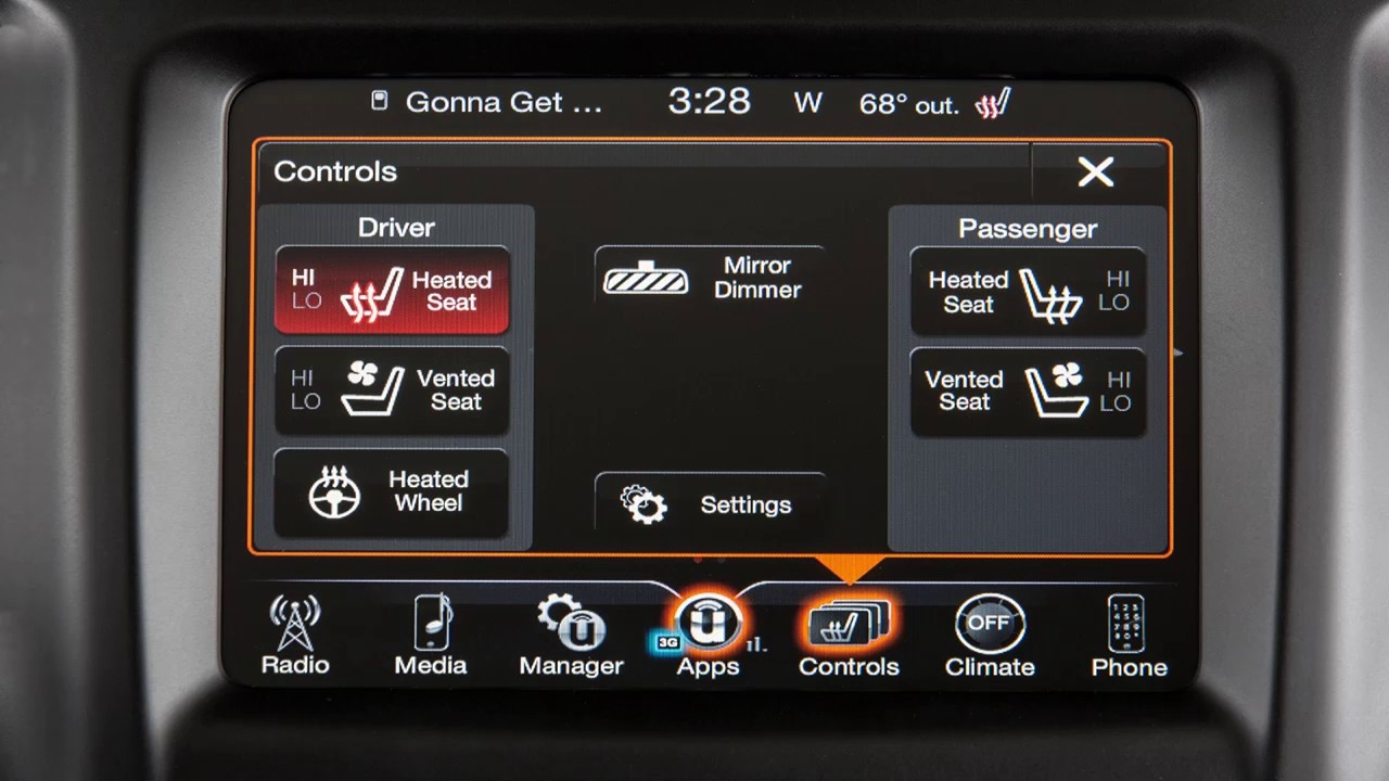 2017 Dodge Ram 1500 >> Heated/Vented Seats-Seat heaters and ventilated seats in ...