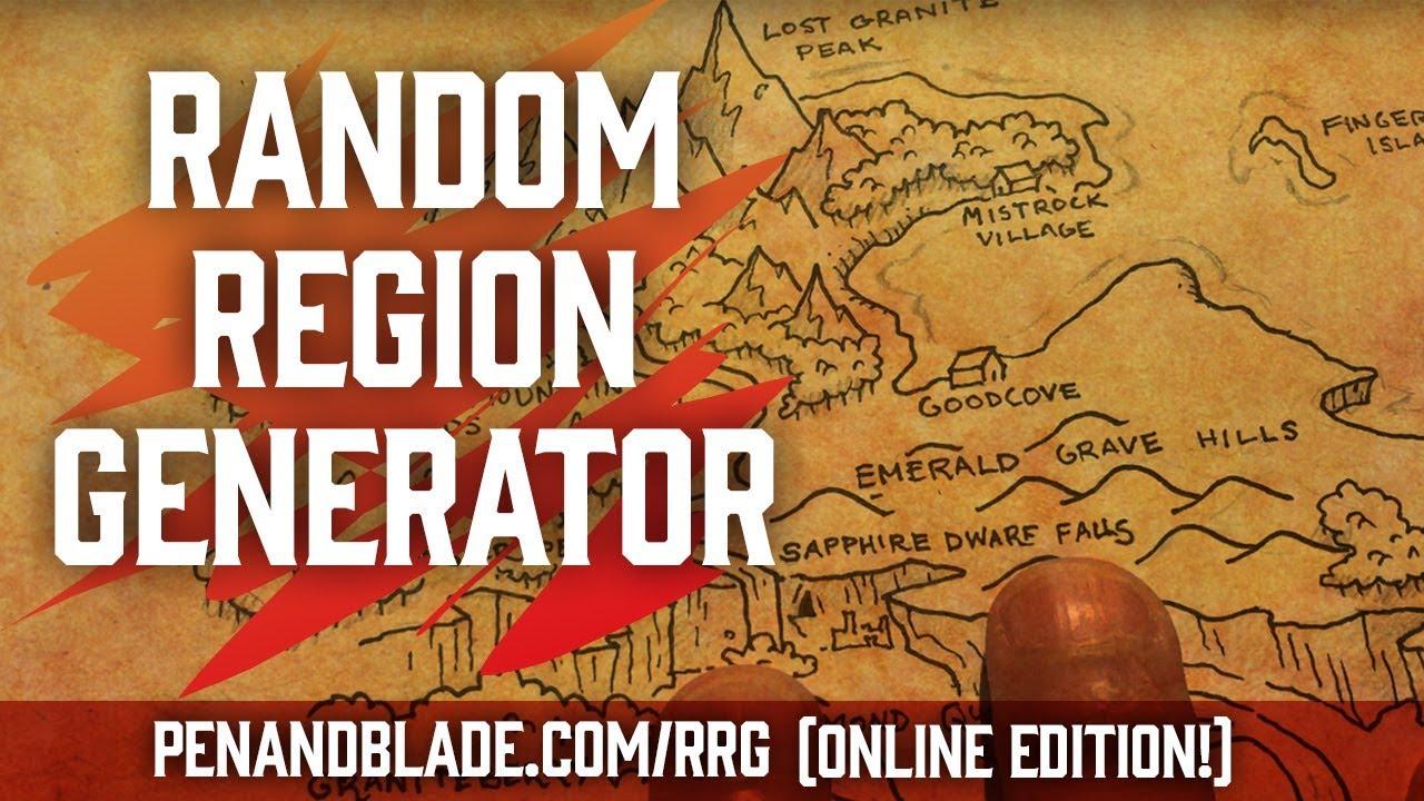 Random Region Worldbuilding (Part 2) | Introducing the online RRG!