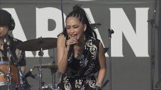8月6日、ROCK IN JAPAN FESTIVAL 2016 初日が国営ひたち海浜公園で開催...