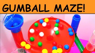 Learn Colors and Numbers with a Marble Run!