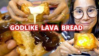 Chiang mai Street Food ⭕️GODLIKE LAVA BREAD⭕️ - Streetalicious Ep 6 - Sub Eng