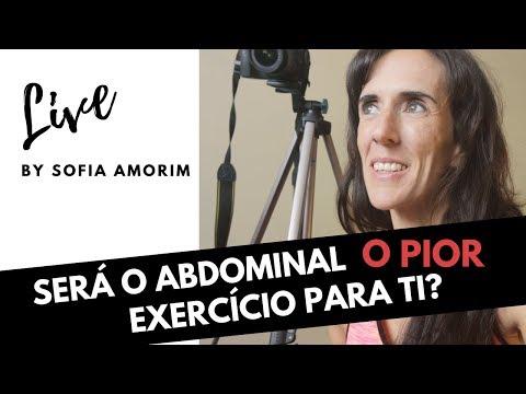 "Live ""Exercícios indicados e contra-indicados"""