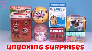 Unboxing TOYS LOL SURPRISE Lost Kitties NUM NOMS Incredibles 2 Blind Boxes Rugrats Roblox