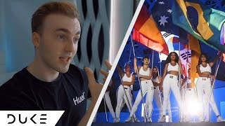 A International Group ?! | Now United - 'Wave Your Flag' MV | The Duke [Reaction]
