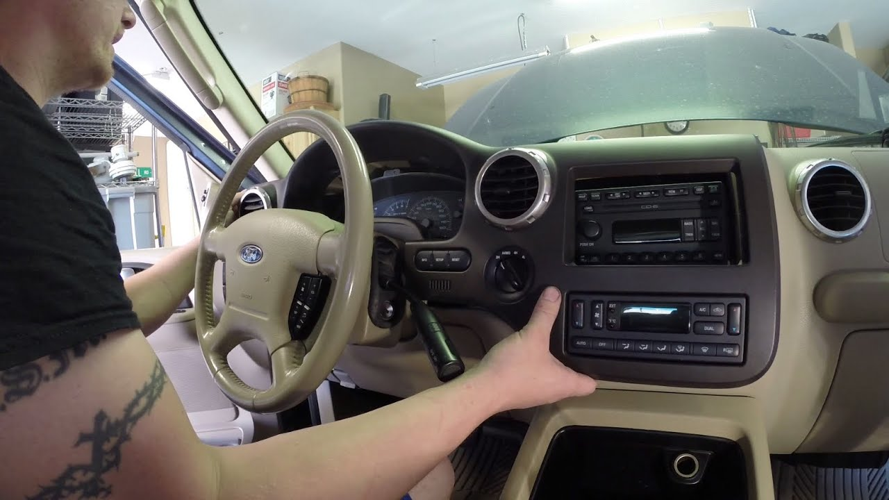 2003 2006 ford expedition front temperature blend door actuator clicking repair [ 1280 x 720 Pixel ]
