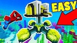 Minecraft Tutorial: How To Make a Modern Underwater Base