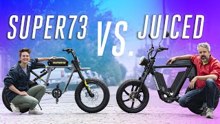 Super73 v Juiced: Racing two extremely powerful e-bikes