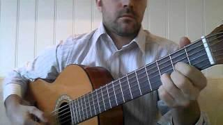 Musevisa på gitar