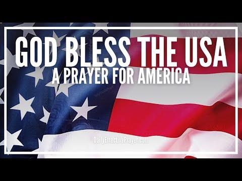 Prayer For America - God Bless The USA