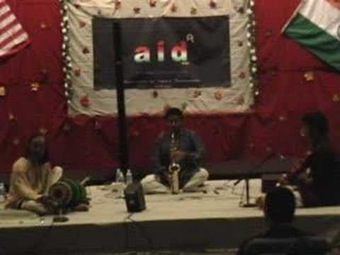 Carnatic saxophone: Raga Keeravani