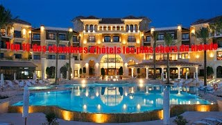 Top 10 des chambres d'hôtels les plus chers du monde