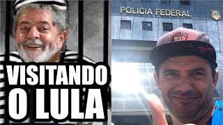 VISITANDO O LULA NA POLÍCIA FEDERAL!