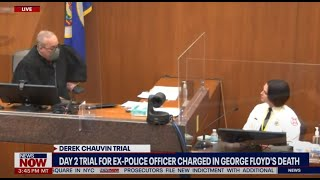 Scolded By The Judge: George Floyd witness talks back one too many times to Chauvin Defense team