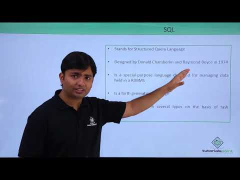 Oracle - SQL - Introduction