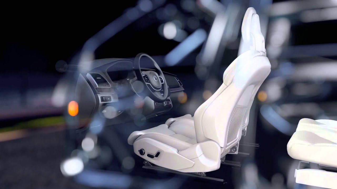 The all-new Volvo XC90 - Front Seat Comfort Functionality - YouTube