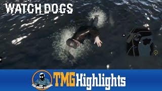Swimming_Dogs | Watch Dogs (PS3) | TMG Highlights