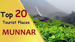 """MUNNAR"" Top 20 Tourist Places | Munnar Tourism"