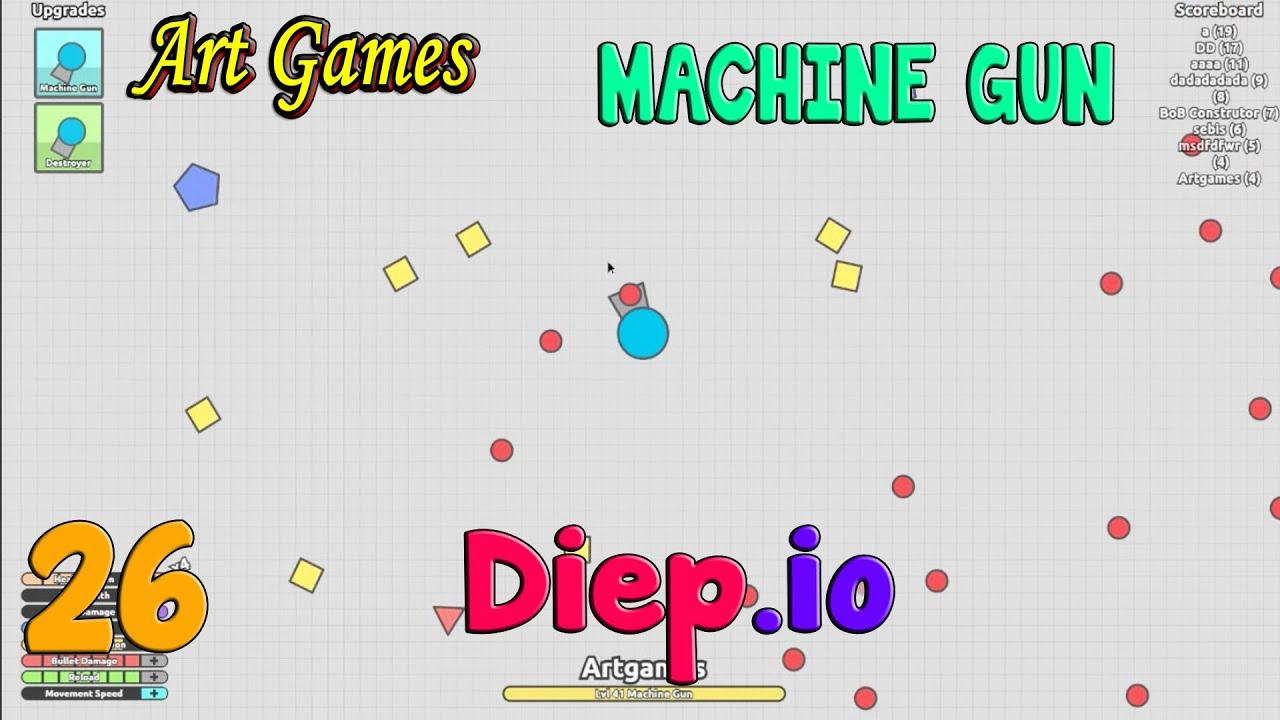diep io machine gun