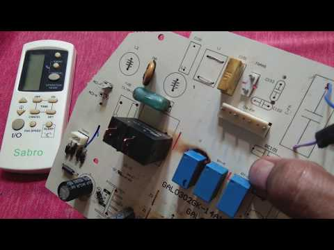 Split Air Conditioner Board Repair, Air Conditioner Card Repair, Free Energy Air Conditioner Hoax.