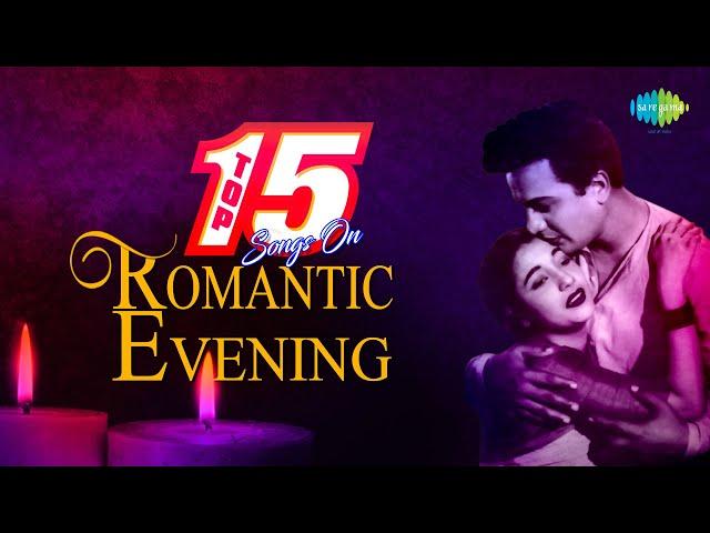 Top 15 Songs On Romantic Evening   Emon Madhur Sandhyay   Ei Sundar Swarnali Sandhay   Sandhya Belay