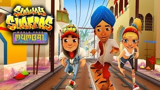 Subway Surfers: Mumbai - Sony Xperia Z2 Gameplay